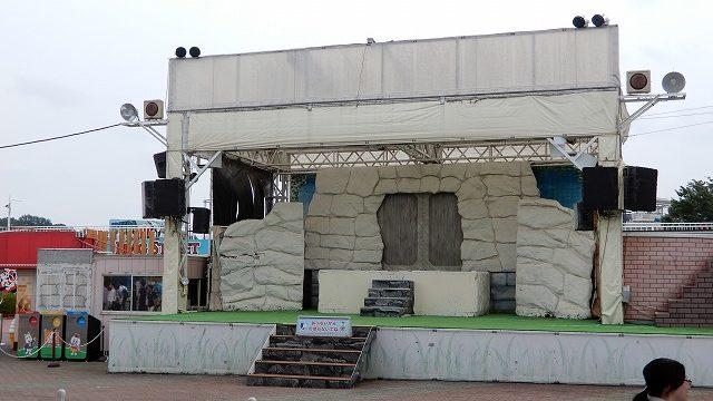 よみうりランド太陽の広場ステージ