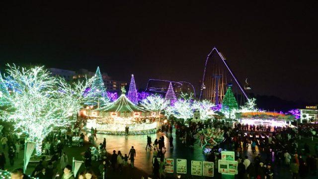 2018クリスマスシーズンの太陽の広場の様子